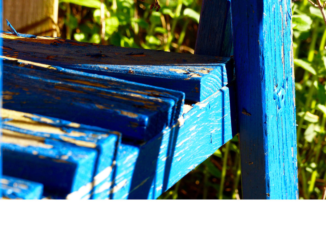 day, wood - material, outdoors, no people, blue, beehive, close-up, apiculture, nature, animal themes