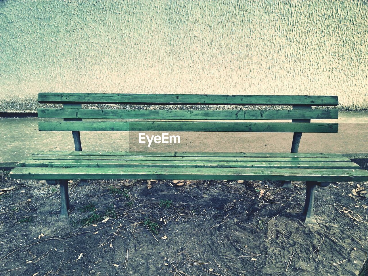 bench, empty, wood - material, absence, seat, no people, past, day, park - man made space, outdoors
