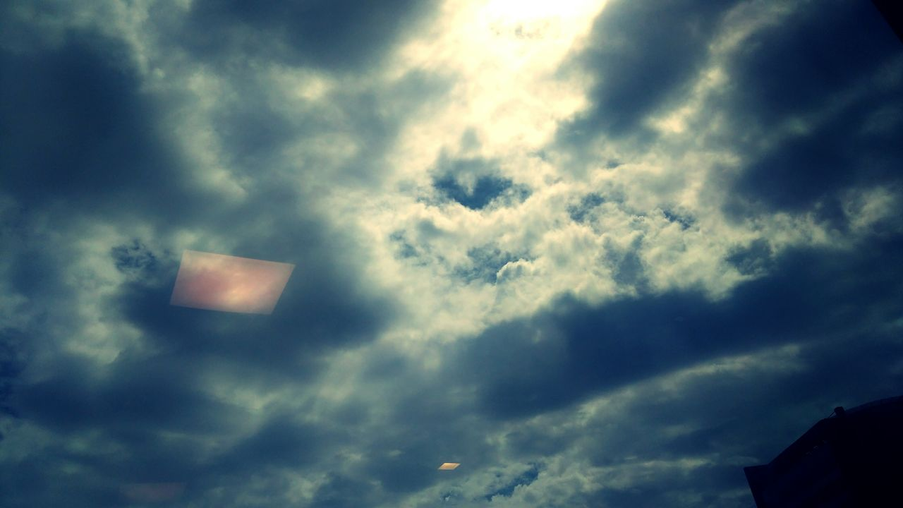 low angle view, sky, cloud - sky, nature, no people, day, outdoors, beauty in nature, sunlight