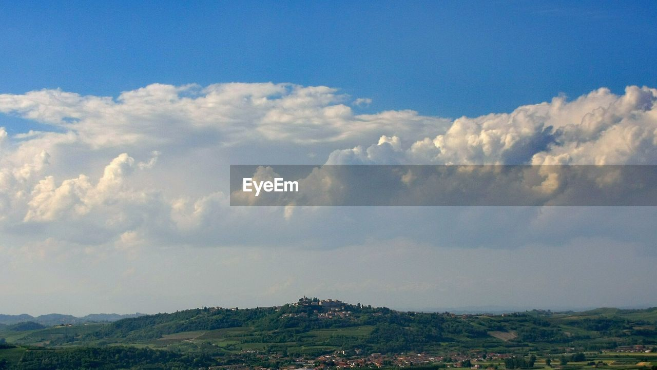 sky, nature, cloud - sky, beauty in nature, scenics, tranquility, outdoors, day, landscape, tranquil scene, no people, blue