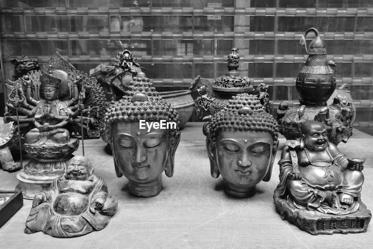 Buddha Art Close-up Statue Tourist Attraction  Art Is Everywhere Wandering Around Aimlessly EyeEm Hong Kong ASIA Wanderlust Discover Hong Kong EyeEm Gallery Leica Lens ASIA Photograph Like Painting Black And White Photography Monochrome Photography Eyeem Monochrome Buddha's Head
