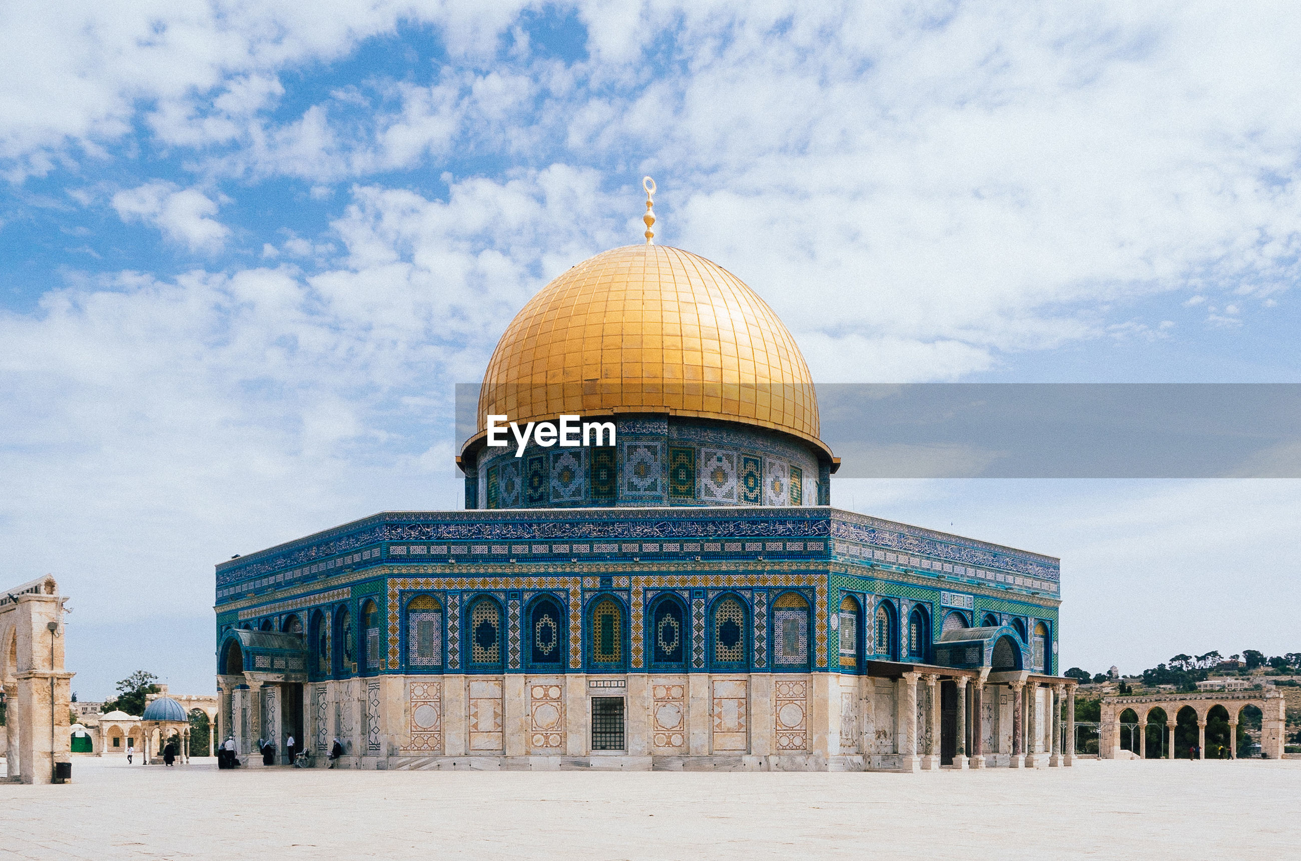 Dome of the rock or mosque of omar