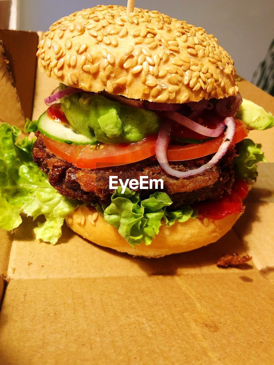 sandwich, fast food, burger, unhealthy eating, food and drink, ready-to-eat, food, hamburger, freshness, bread, vegetable, meat, indoors, lettuce, close-up, no people, still life, table, take out food, bun, fried, snack, cheeseburger, temptation