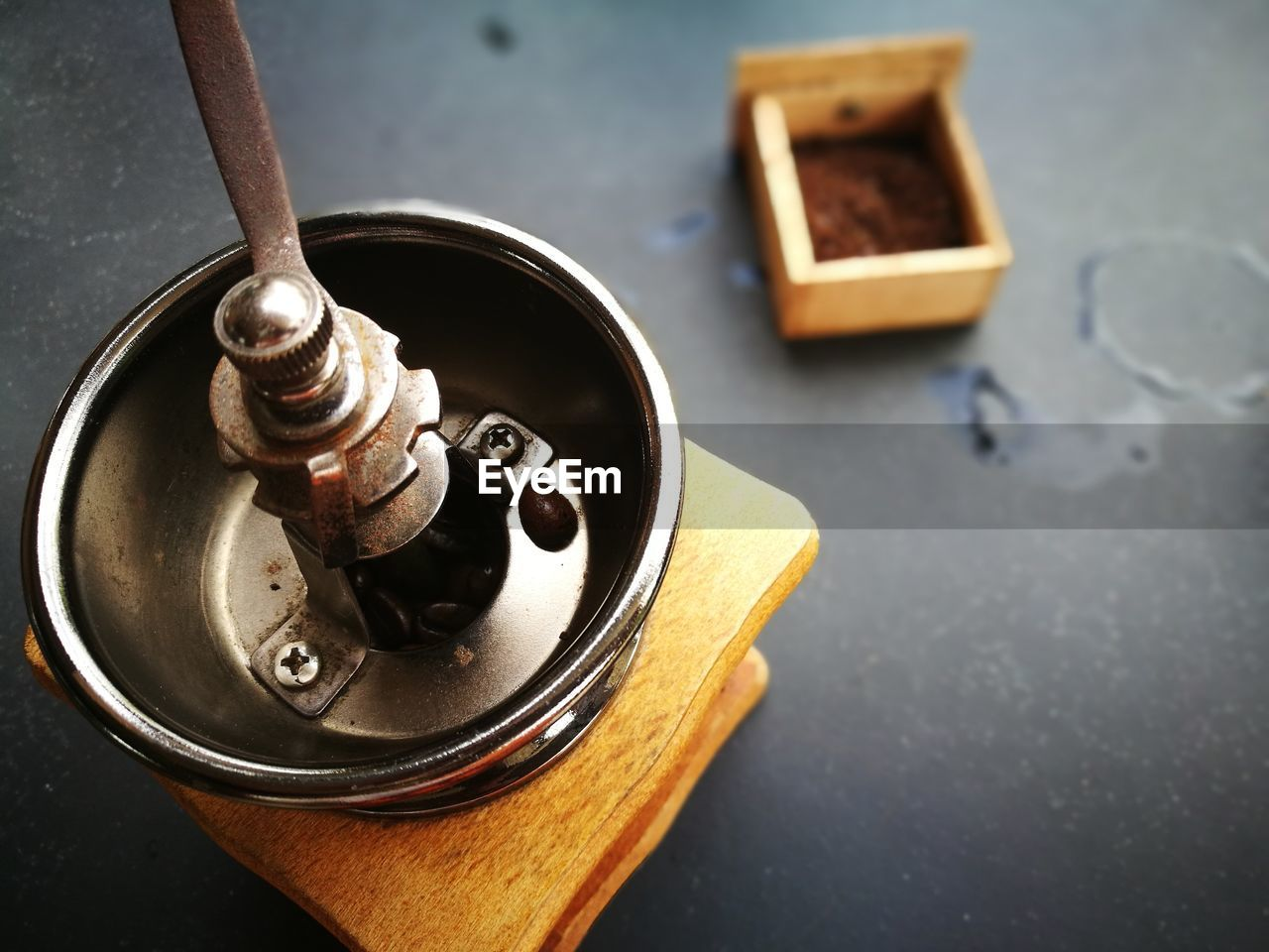 Close-up of kitchen utensil on table