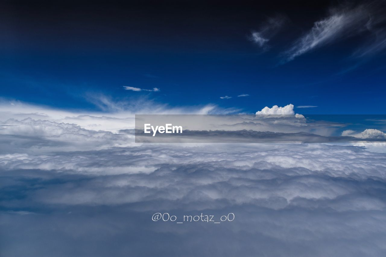 cloud - sky, sky, nature, text, blue, beauty in nature, outdoors, tranquility, communication, scenics, no people, day