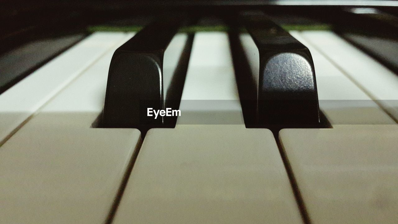 music, piano, piano key, musical instrument, indoors, close-up, arts culture and entertainment, no people, day