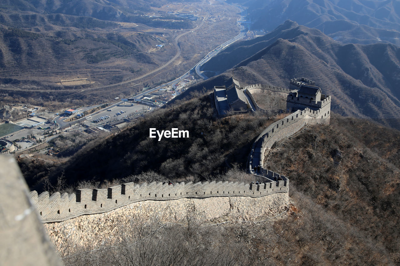 Great wall of china outside beijing