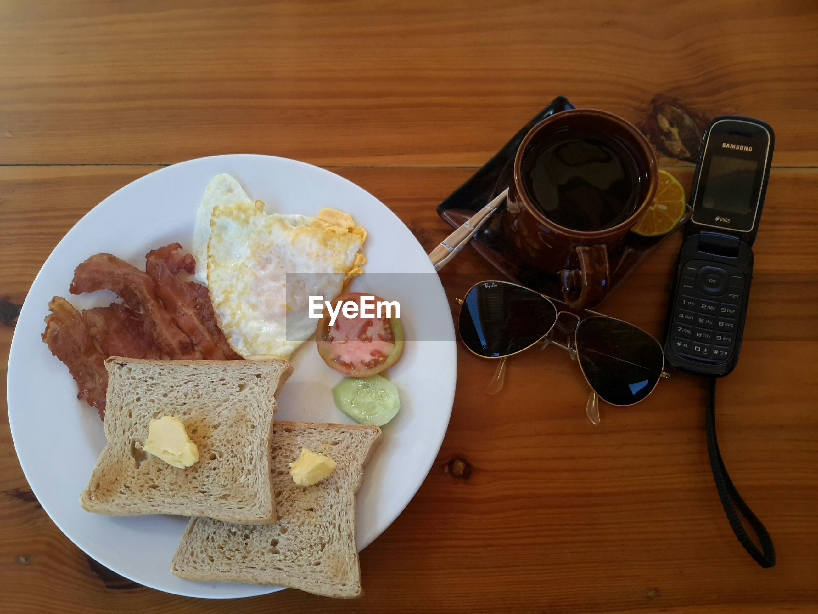 table, food and drink, indoors, food, plate, breakfast, no people, bread, healthy eating, freshness, ready-to-eat, close-up, day