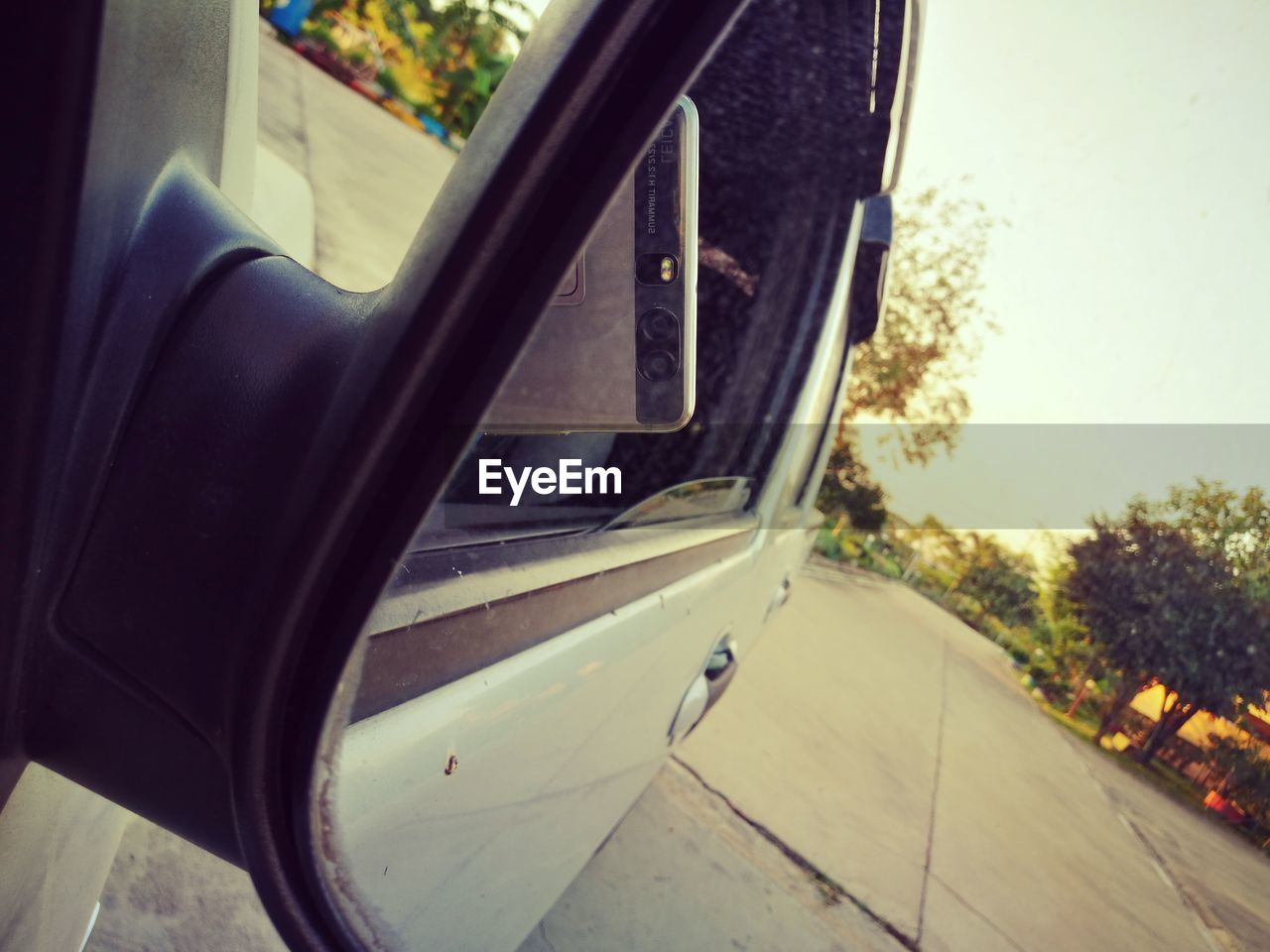 mode of transport, transportation, car, land vehicle, window, no people, side-view mirror, day, journey, close-up, outdoors, tree, vehicle seat, nautical vessel, sky