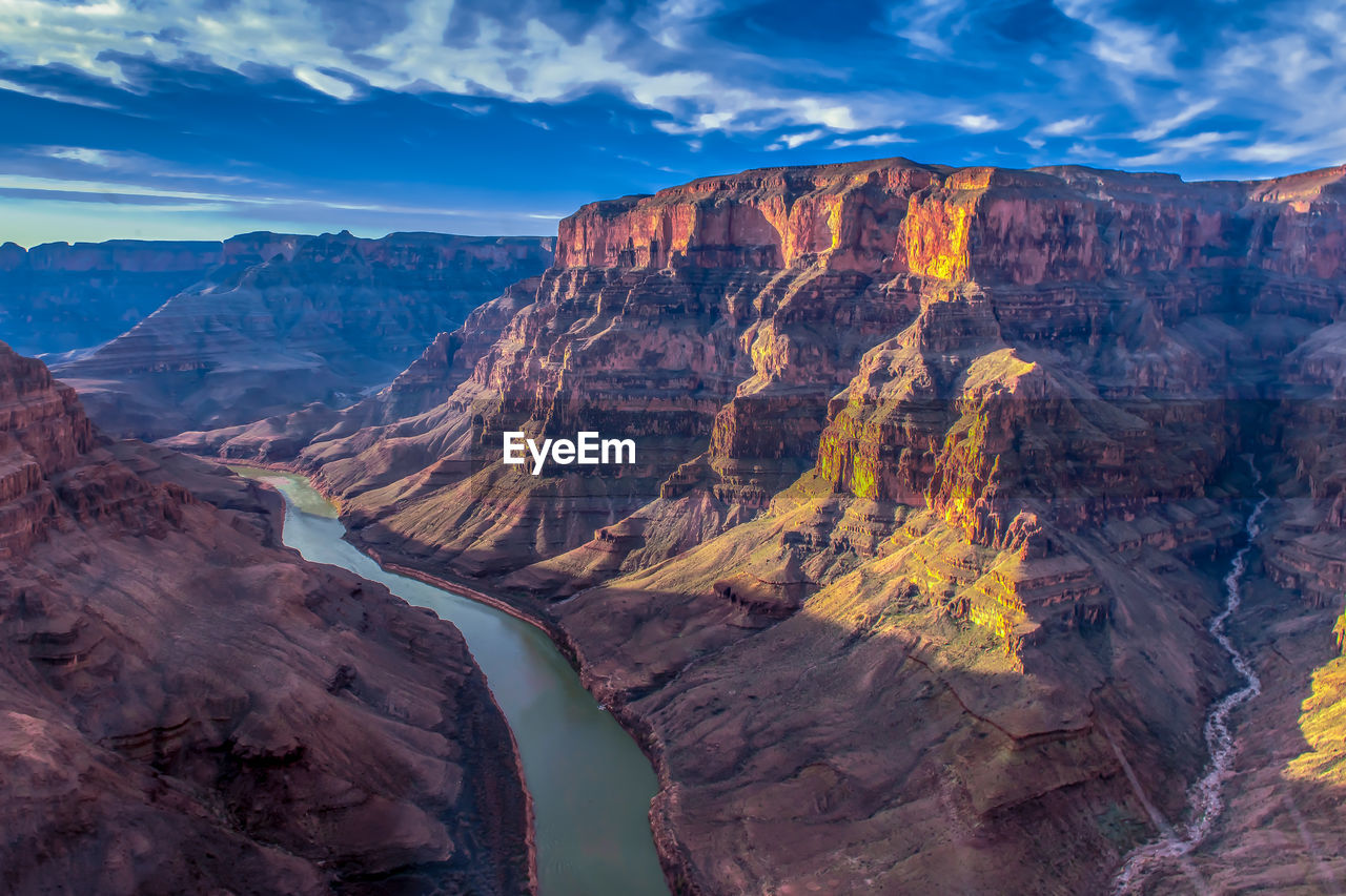 Scenic View Of The Grand Canyon Against Sky