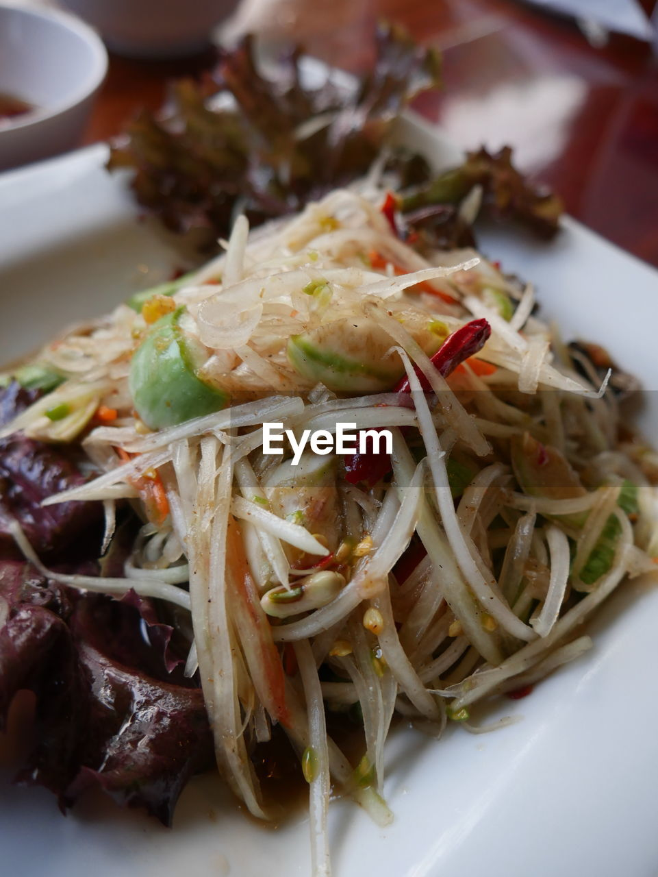 food and drink, ready-to-eat, food, freshness, serving size, plate, indoors, close-up, healthy eating, no people, bean sprout