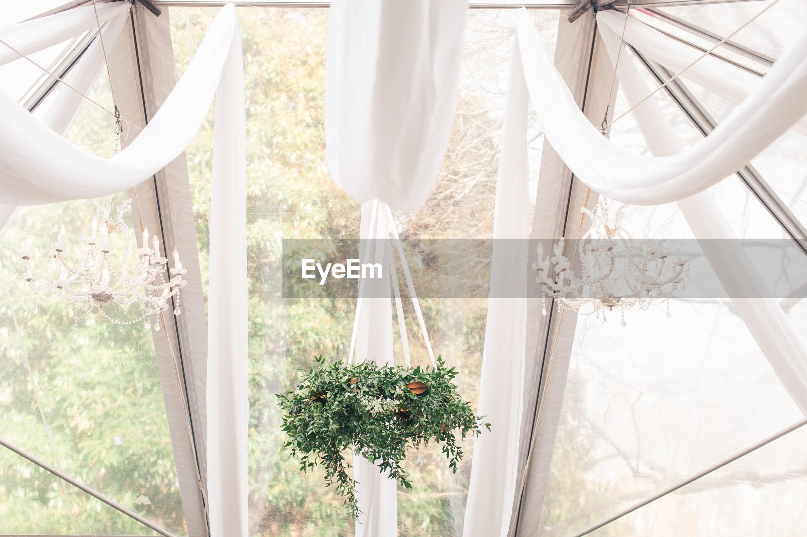 Decoration during wedding