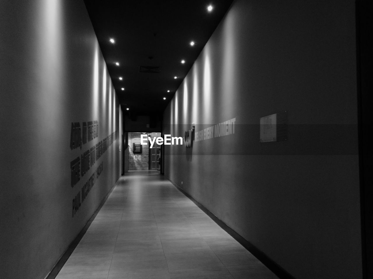 the way forward, indoors, illuminated, empty, corridor, built structure, architecture, no people, day