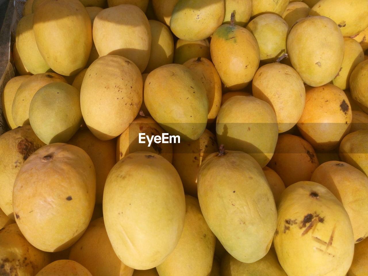 Full Frame Image Of Mangoes