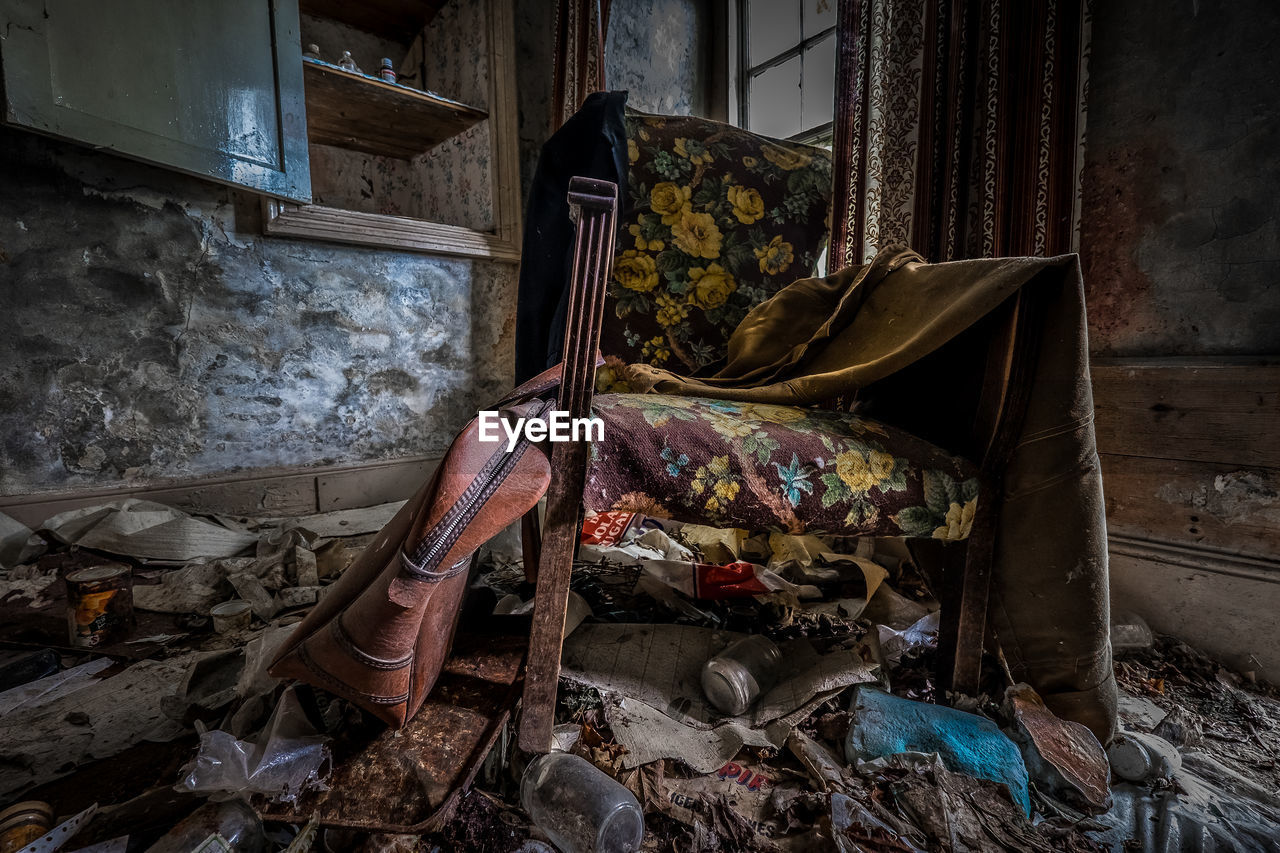 Armchair In Ruined House