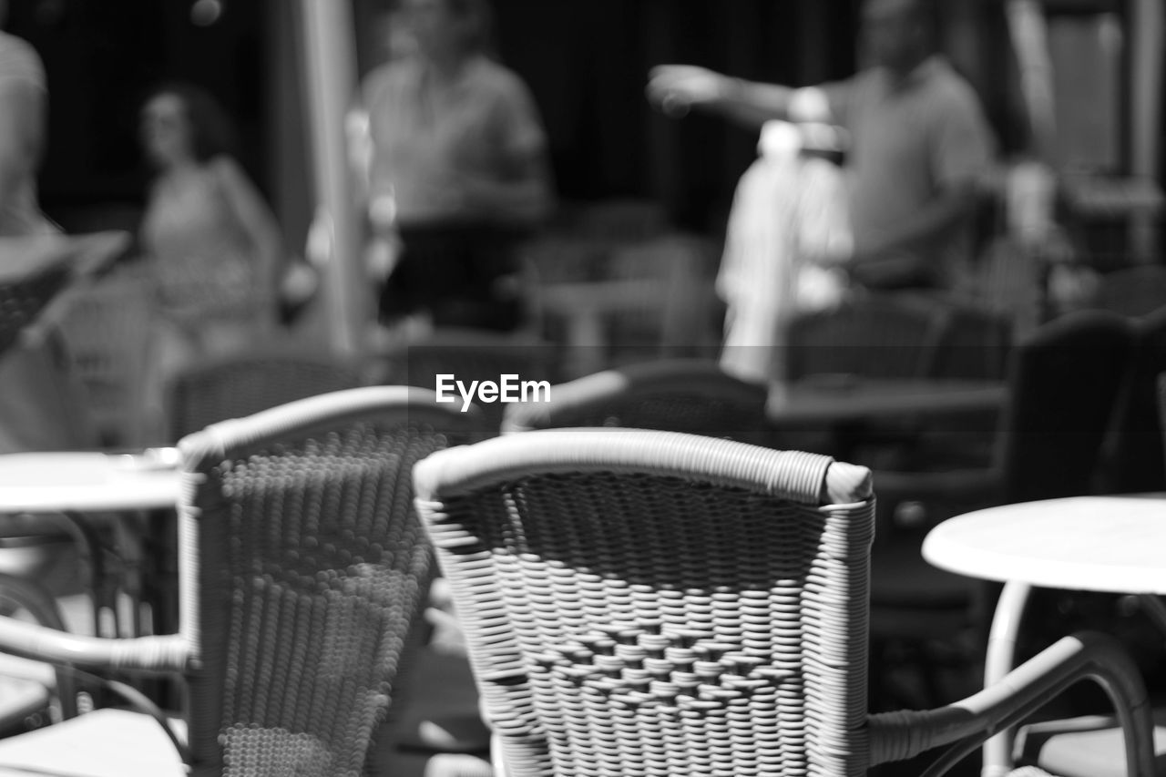 chair, focus on foreground, close-up, indoors, day, no people