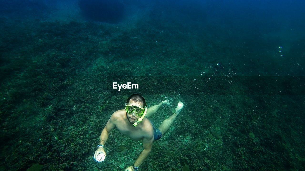 underwater exploration, Thailand.Underwater Water Swimming UnderSea Portrait High Angle View Snorkeling Looking At Camera Vacations Adventure Summer Shirtless Sport Diving Thailand Done That. Go Higher Summer Exploratorium