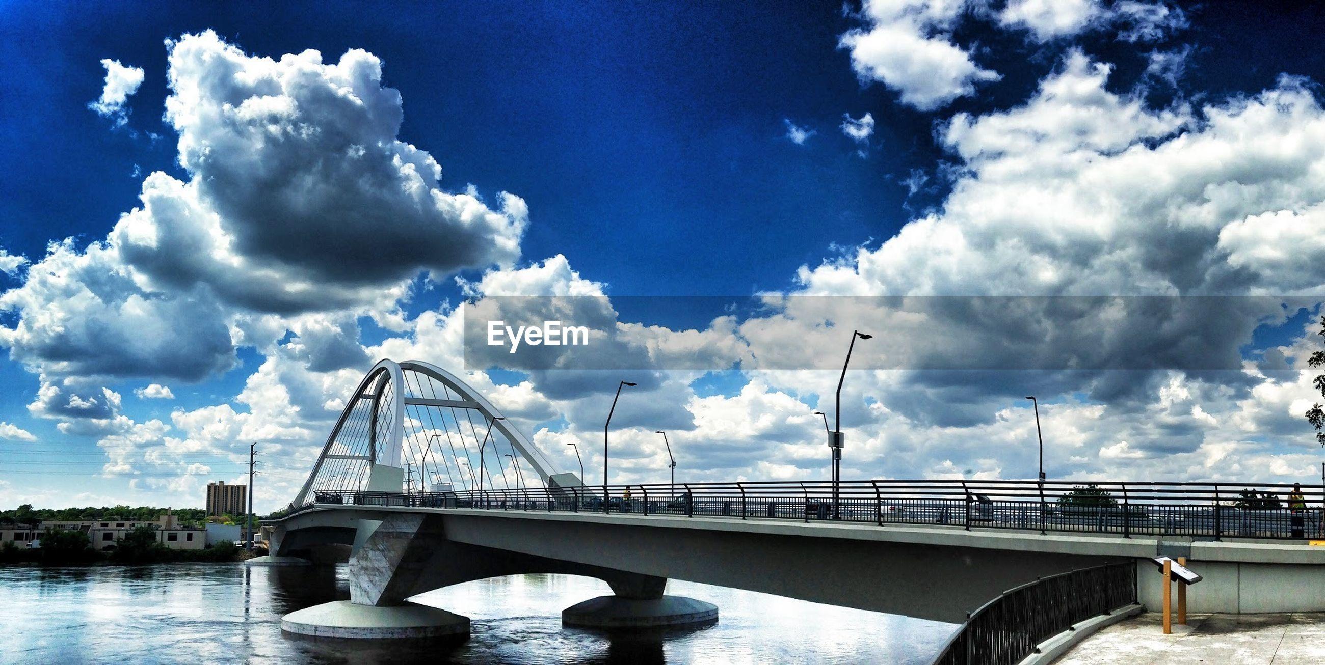 View of modern bridge