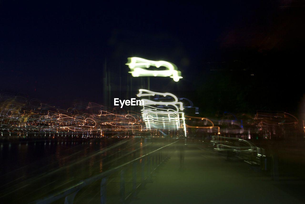 night, illuminated, no people, architecture, outdoors, city, neon, sky
