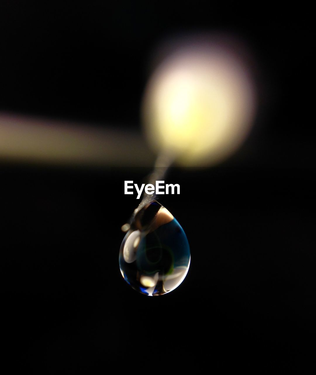 Macro shot of water drop
