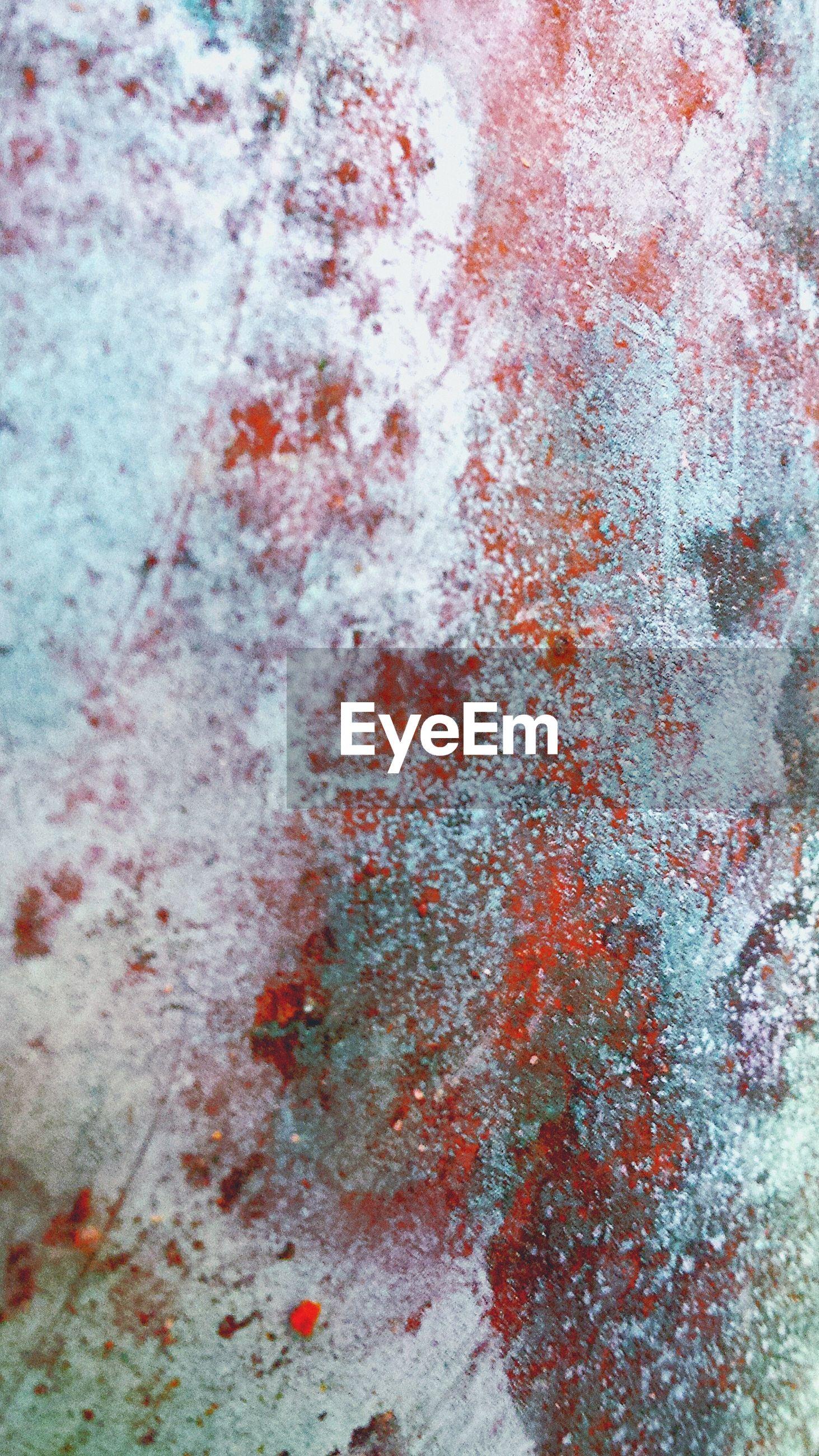 Full frame shot of weathered metal