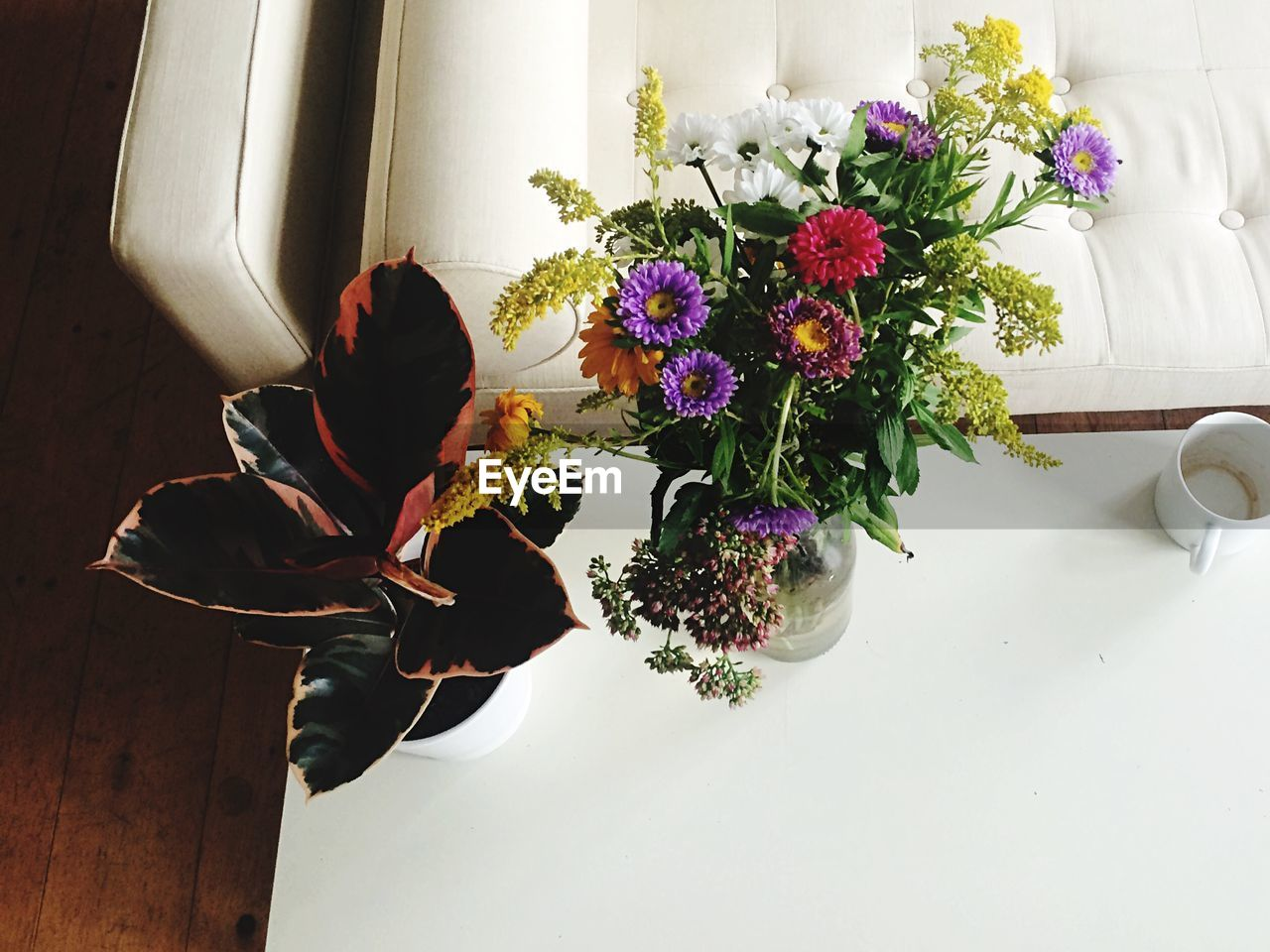 flower, vase, indoors, table, bouquet, freshness, nature, day, one person, people