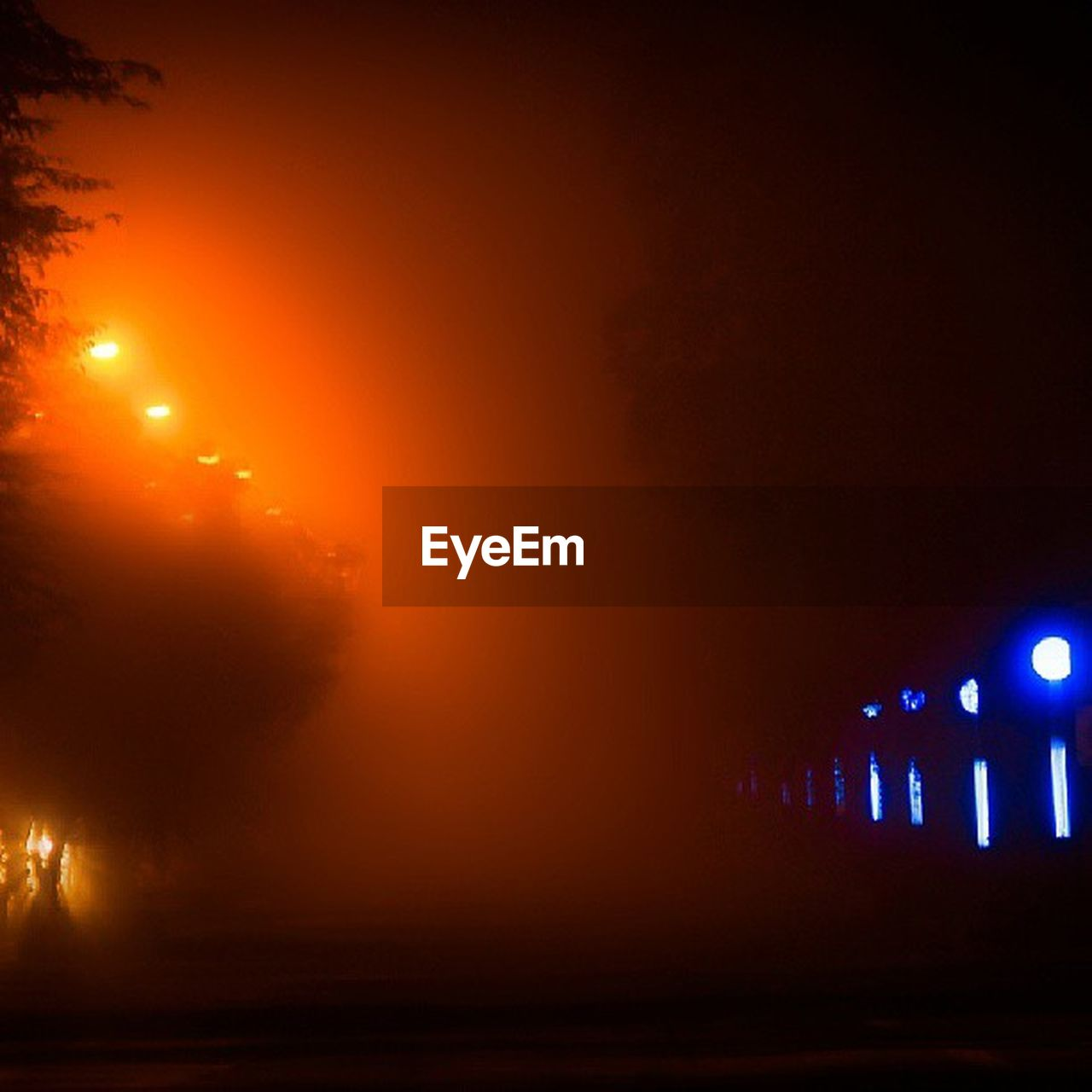 illuminated, night, backgrounds, arts culture and entertainment, fog, no people, outdoors, nature, sky