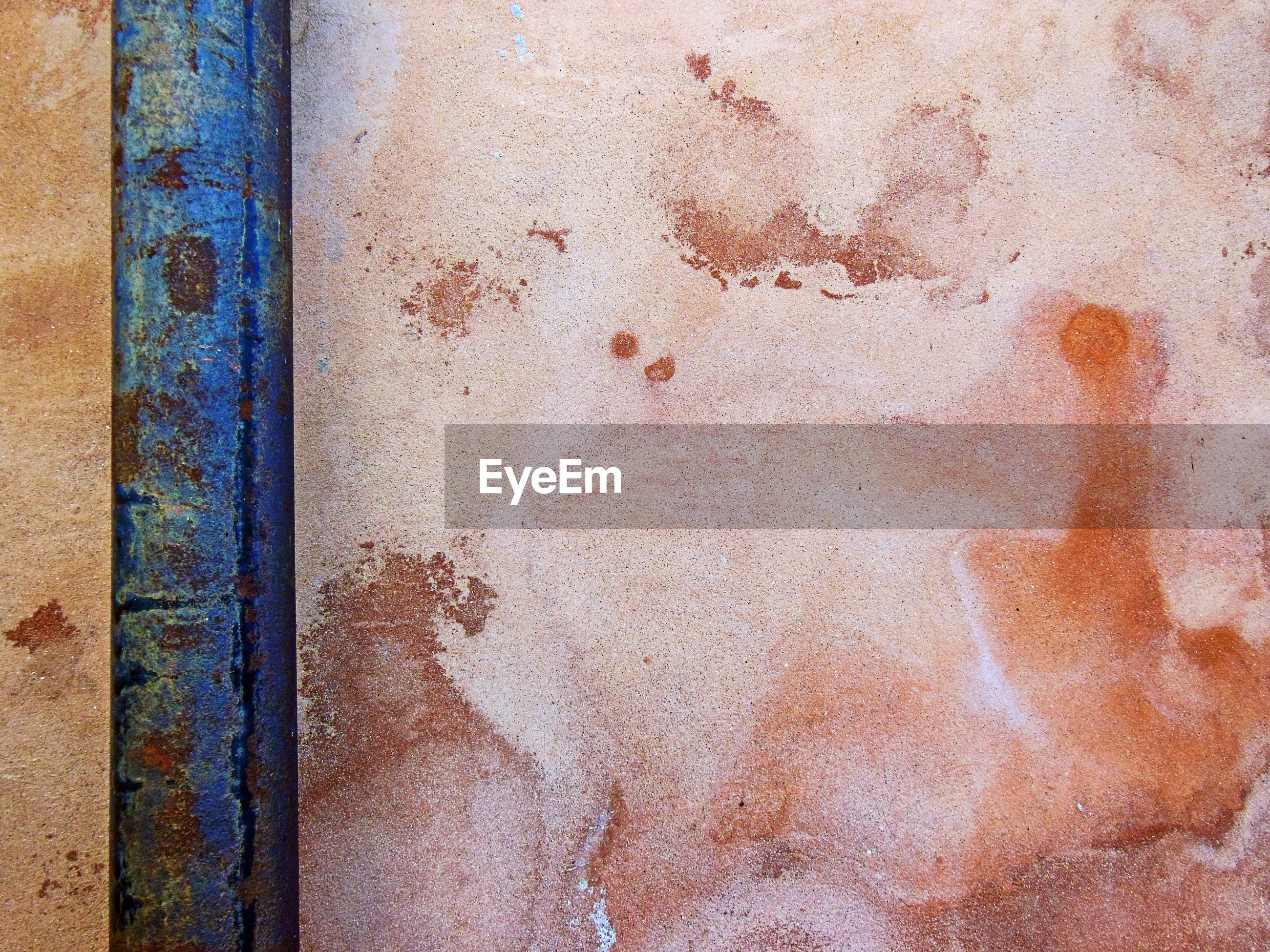 Close-up of abstract wall