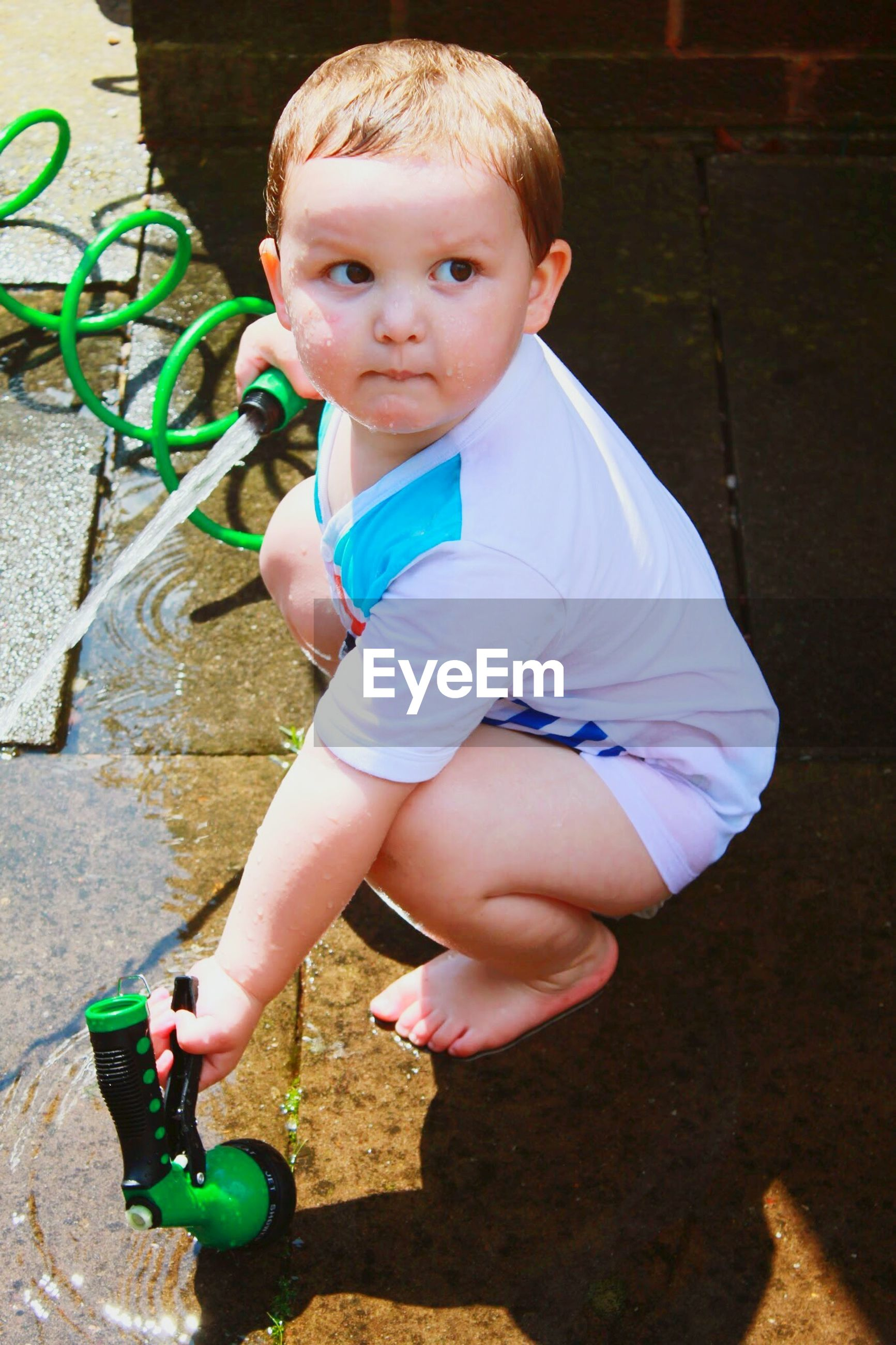 childhood, elementary age, innocence, cute, boys, girls, person, full length, high angle view, playful, leisure activity, playing, toy, toddler, lifestyles, casual clothing, preschool age, babyhood