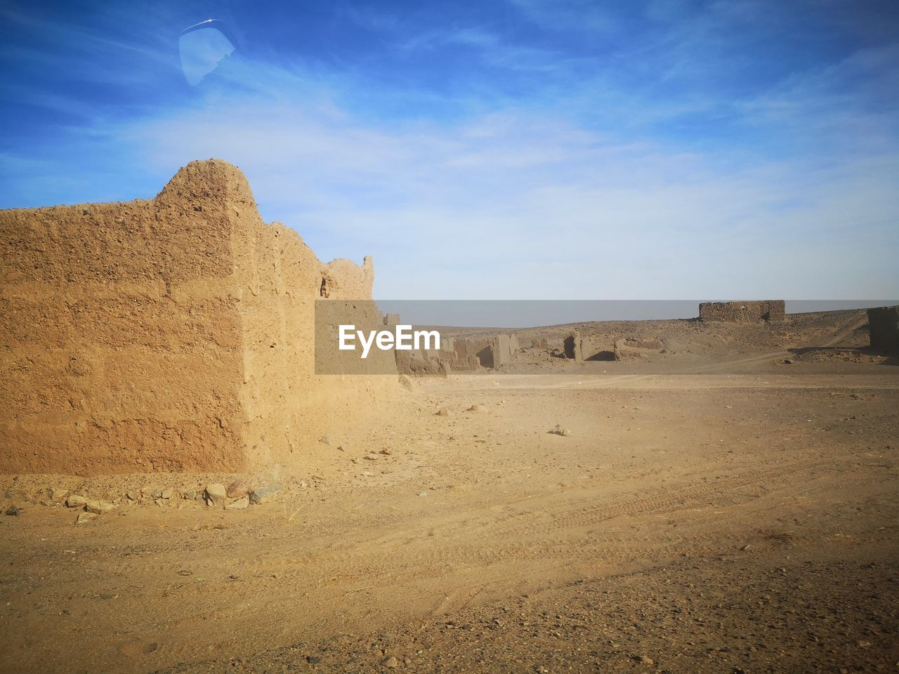 sky, history, the past, scenics - nature, nature, beauty in nature, ancient, land, tranquil scene, environment, tranquility, travel destinations, landscape, day, no people, architecture, non-urban scene, fort, travel, built structure, outdoors, ancient civilization, climate, arid climate, ruined