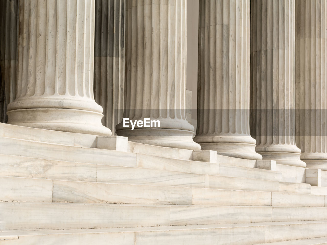 architectural column, law, courthouse, marble, architecture, justice - concept, legal system, government, the past, history, staircase, built structure, authority, no people, building exterior, solid, travel destinations, finance, strength, stability, colonnade, classical style