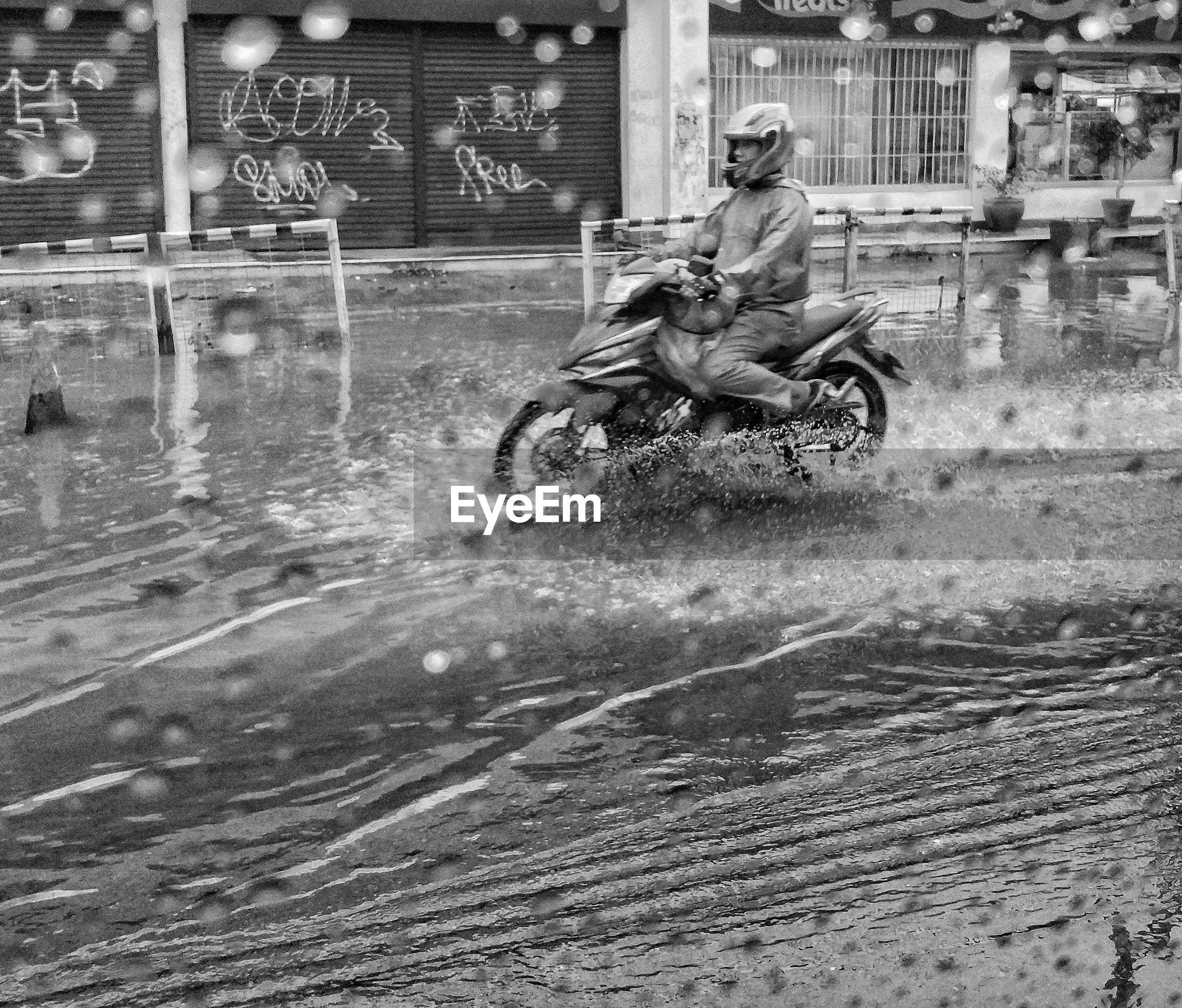 Rainy season starts