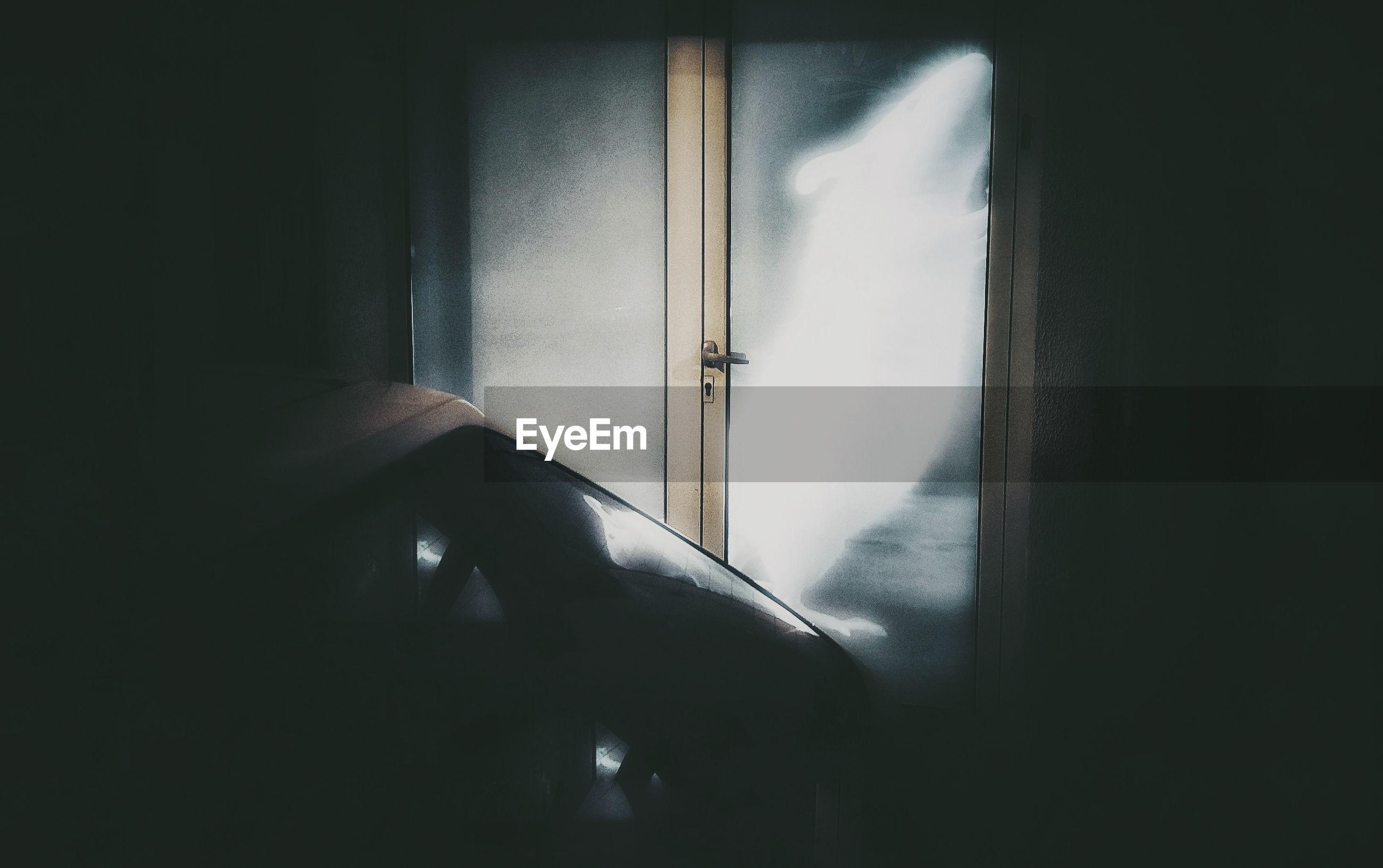 indoors, door, window, open, day, no people, close-up
