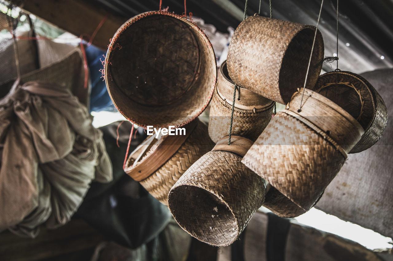 Close-Up Of Hanging Baskets