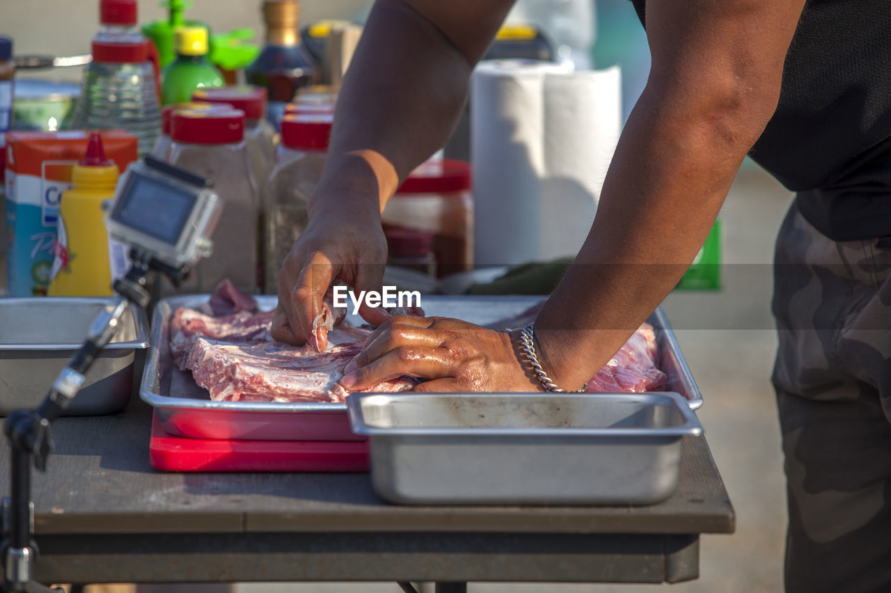 Recording Of Beef Preparation