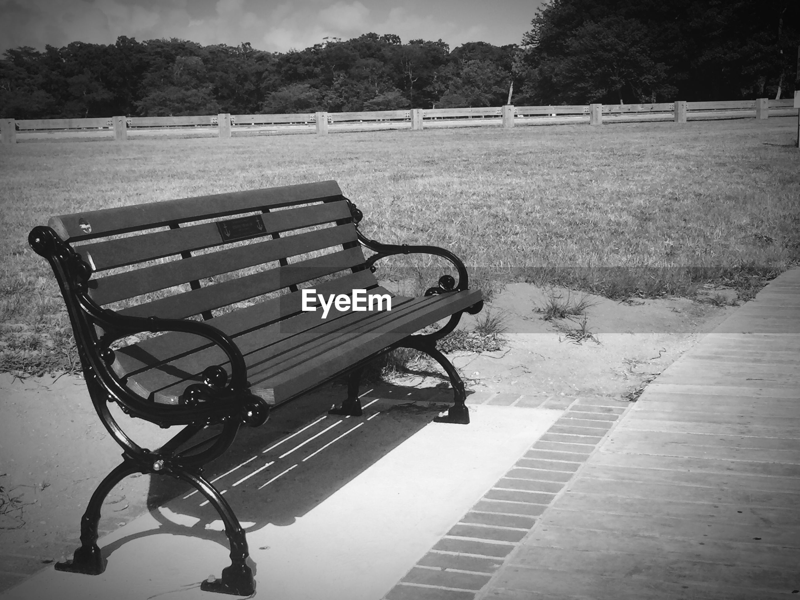 EMPTY SEAT AT PARK