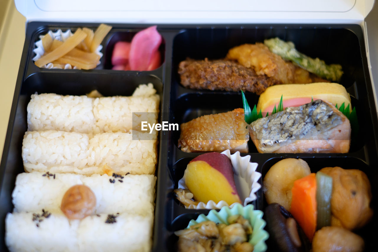 food, food and drink, freshness, ready-to-eat, rice - food staple, healthy eating, indoors, no people, close-up, sushi, day