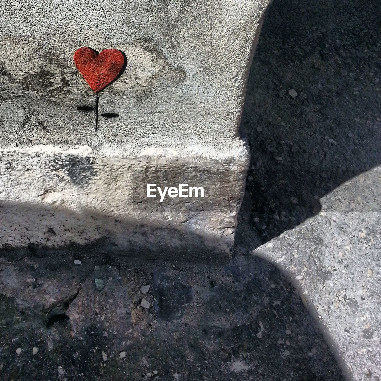 Heart Shape On Wall