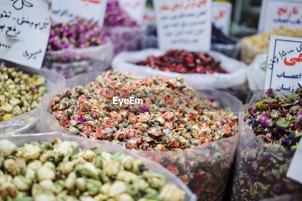 market, retail, choice, variation, for sale, food, food and drink, freshness, market stall, abundance, large group of objects, selective focus, arrangement, no people, retail display, business, price tag, small business, still life, spice, sale, consumerism, bouquet