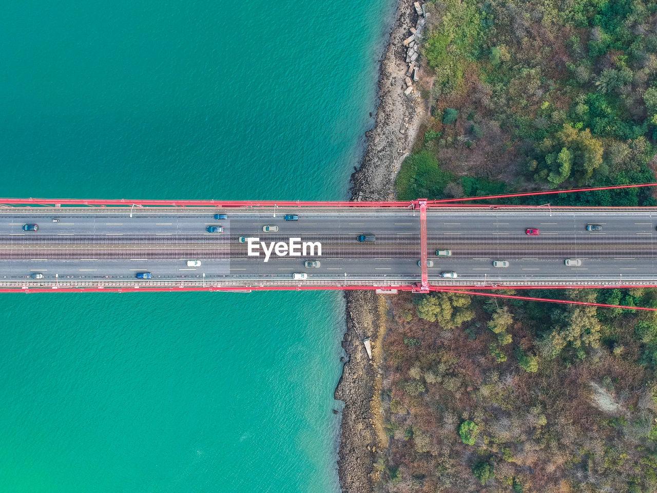 Aerial View Of April 25Th Bridge Over Tagus River