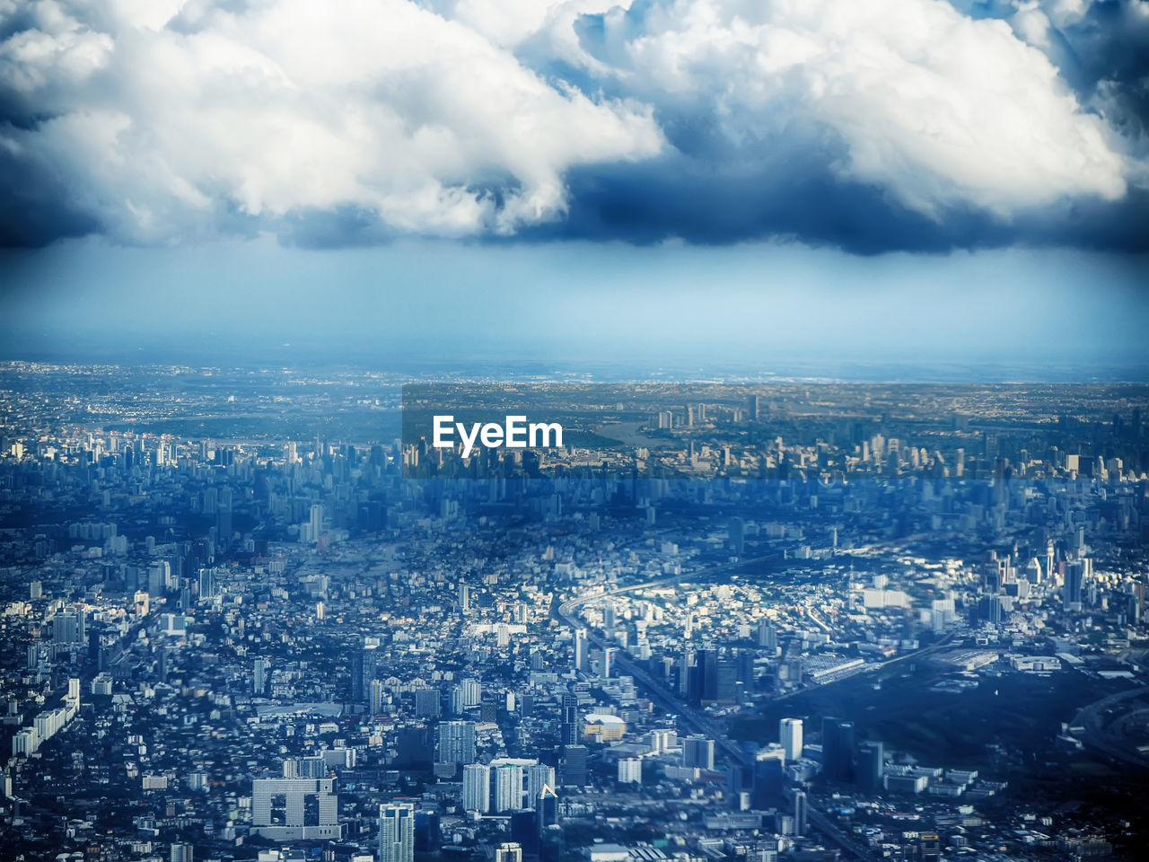 Aerial View Of Cityscape