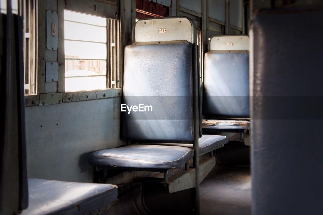 Seats In Train