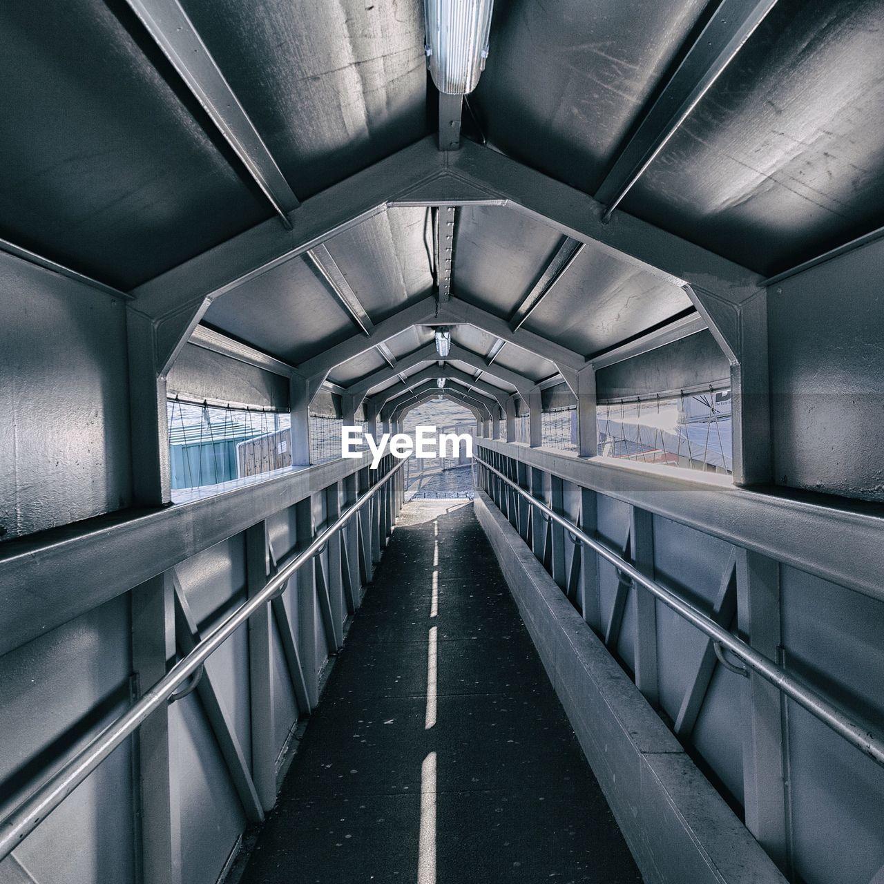 Interiors Of Covered Bridge