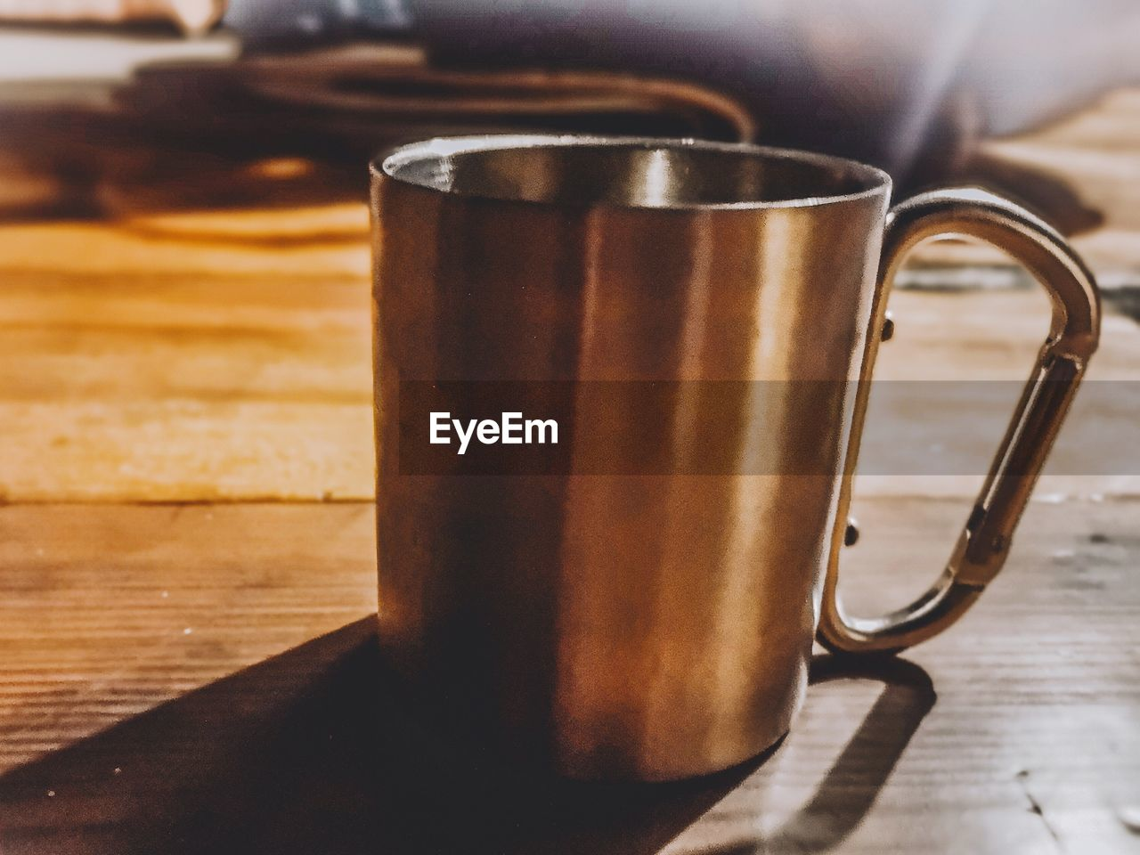 table, still life, indoors, food and drink, refreshment, drink, close-up, no people, cup, mug, coffee, wood - material, freshness, focus on foreground, coffee - drink, coffee cup, household equipment, food, metal, brown, glass, froth
