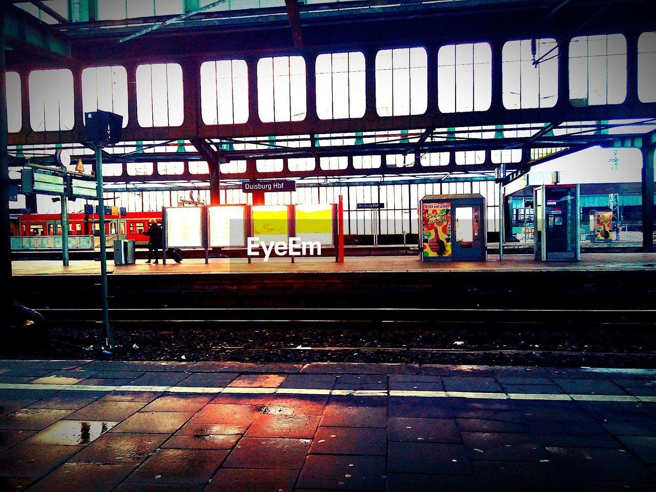 Duisburg Hauptbahnhof Railroad Station