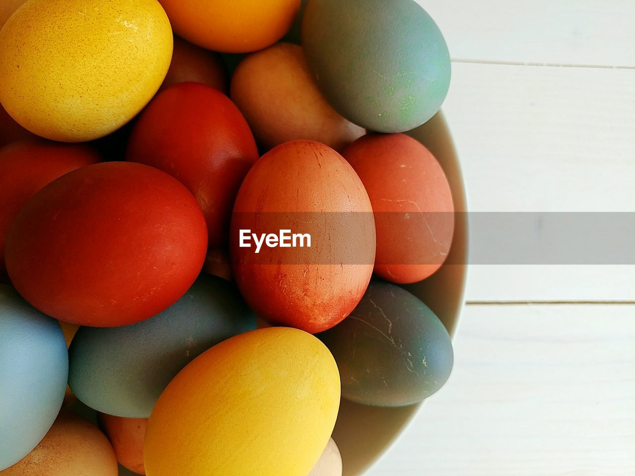 food, food and drink, egg, healthy eating, freshness, still life, wellbeing, indoors, no people, close-up, high angle view, large group of objects, raw food, table, group of objects, multi colored, fruit, fragility, vulnerability, arrangement