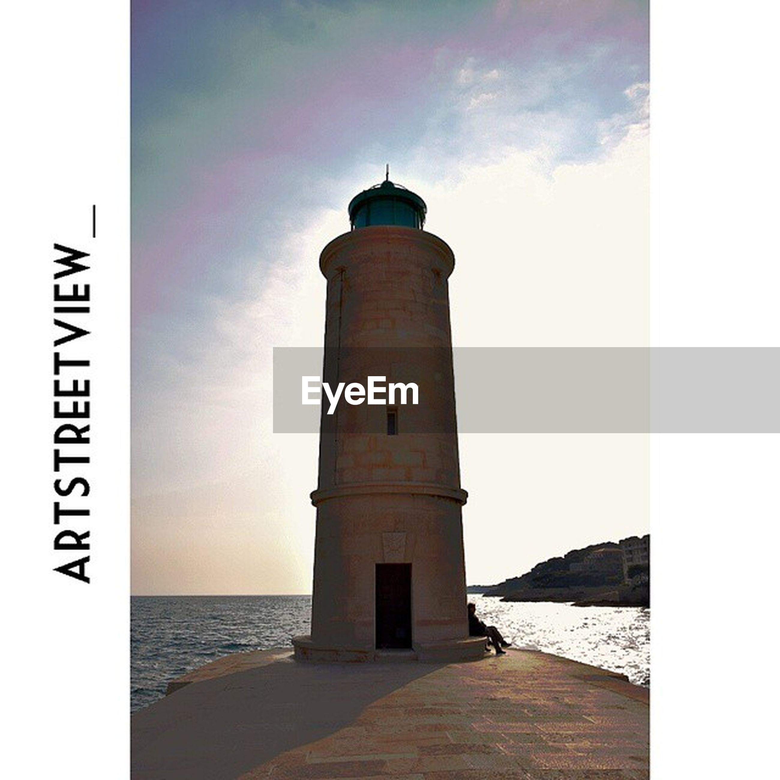 guidance, lighthouse, sea, direction, sky, built structure, architecture, water, building exterior, safety, protection, tower, communication, horizon over water, auto post production filter, transfer print, tranquility, security, outdoors, day