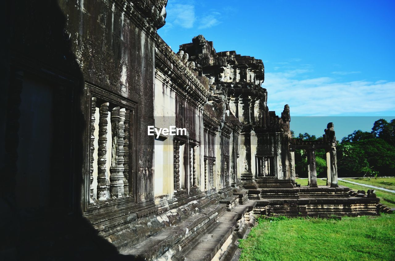 Angkor Wat Against Sky