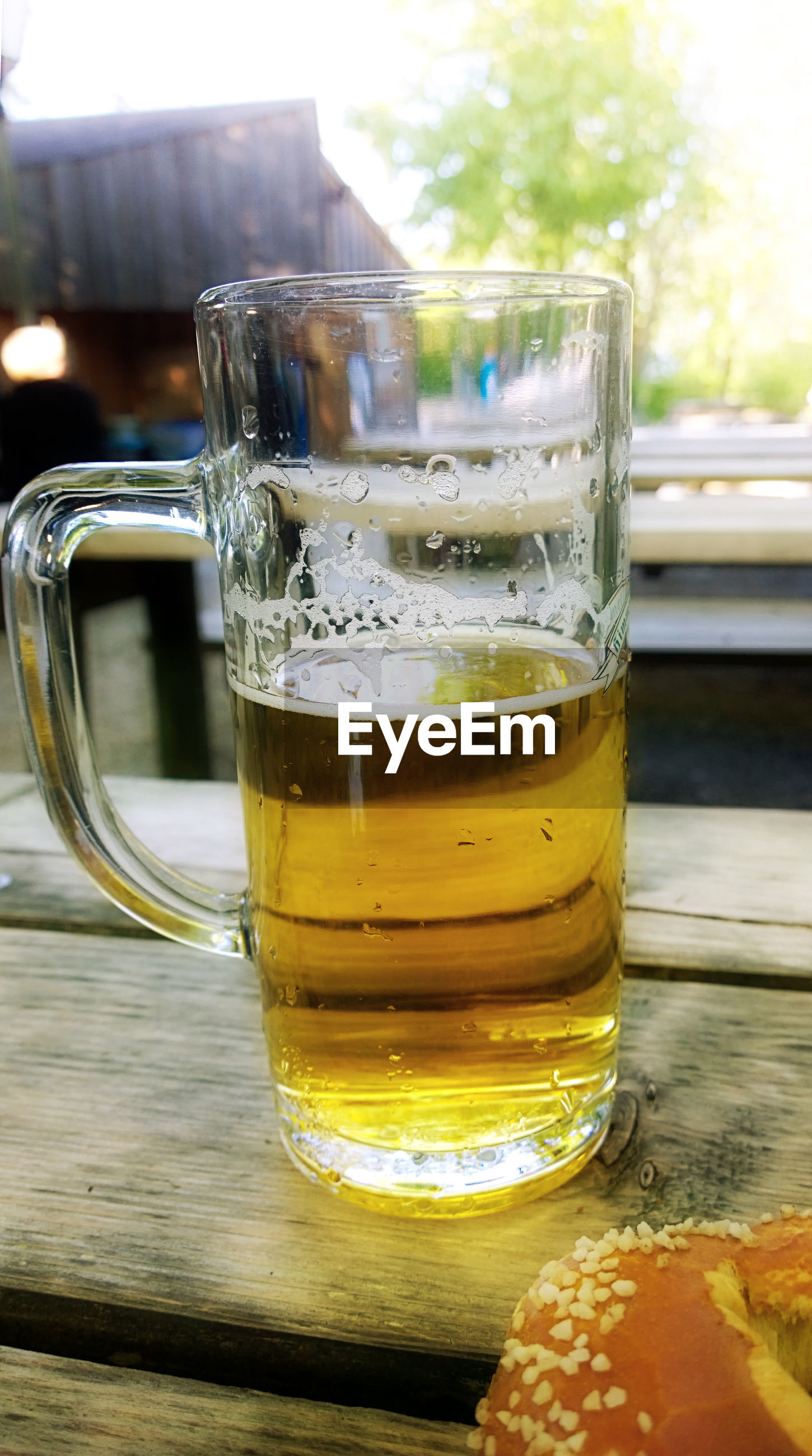 refreshment, drink, food and drink, beer, table, alcohol, beer - alcohol, drinking glass, glass, household equipment, freshness, still life, glass - material, close-up, beer glass, transparent, focus on foreground, no people, food, wood - material