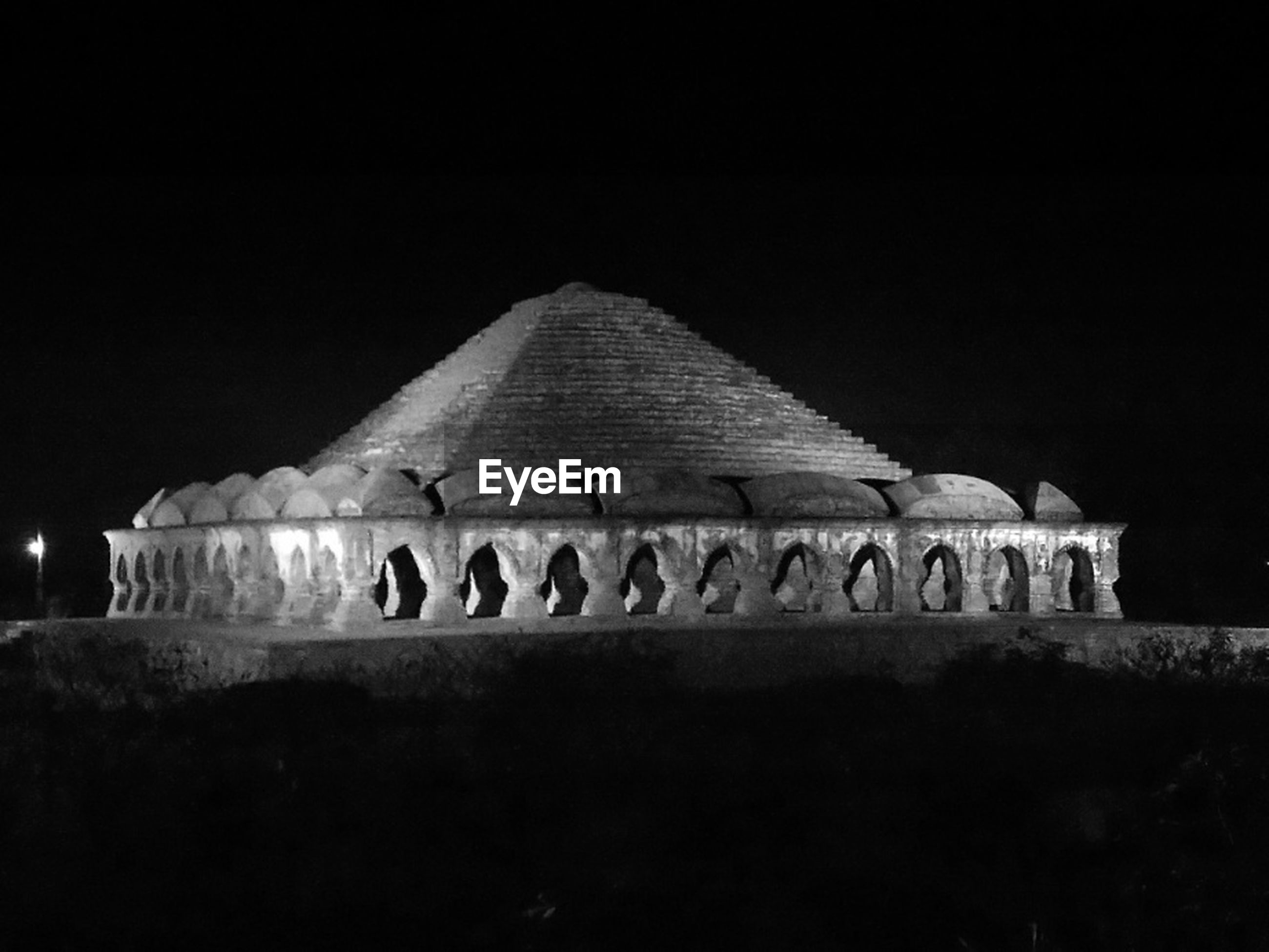 Rasmancha temple at night